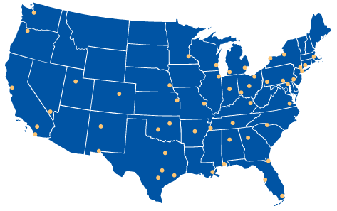 Alliance Imaging Products Distribution Locations